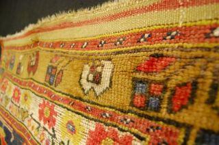 Antiker Anatolien Teppich Sammlerstück Ca: 240x105cm Antique Rug Bild