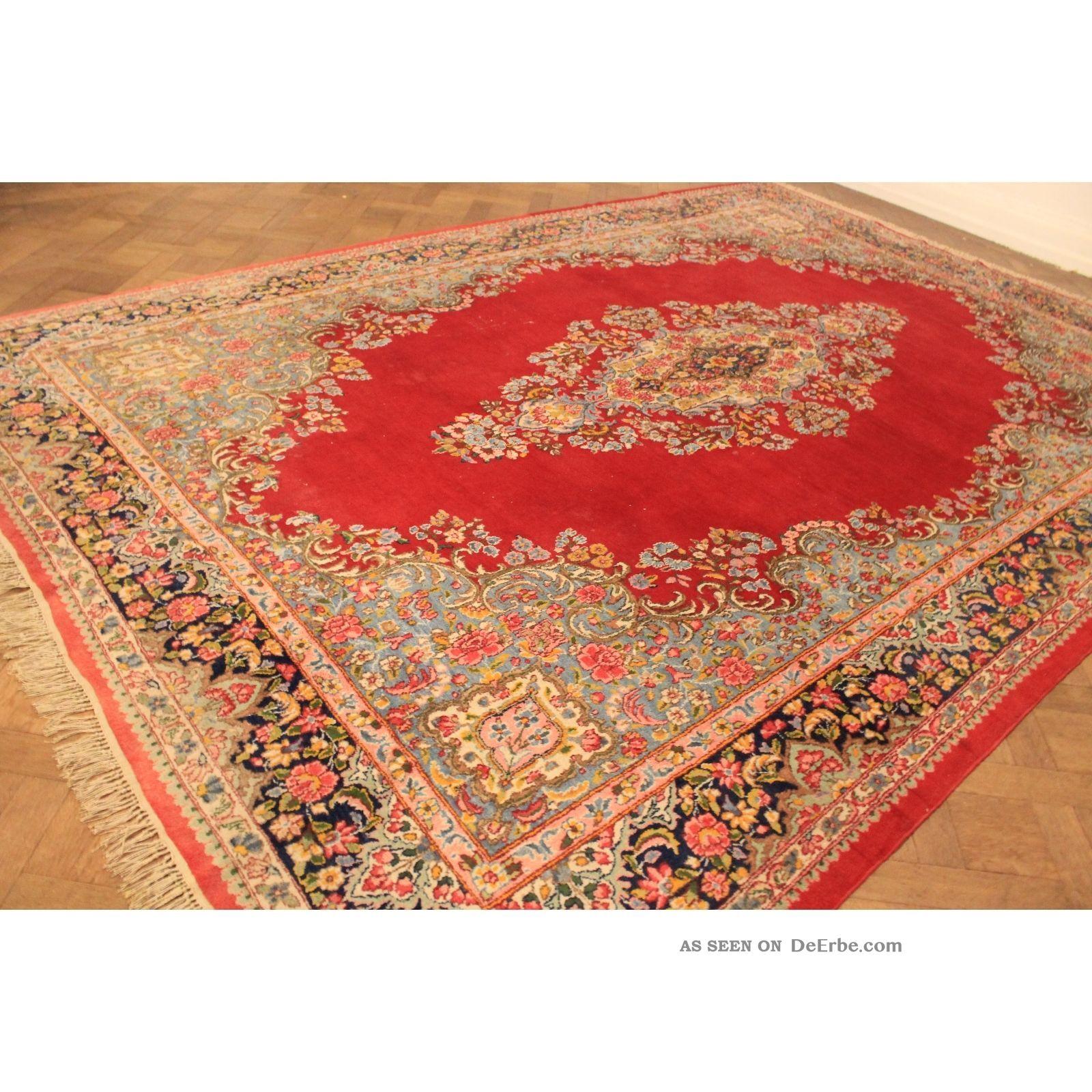majest tischer handgekn pfter spiegel royal palast orient teppich 270x400cm xxl. Black Bedroom Furniture Sets. Home Design Ideas