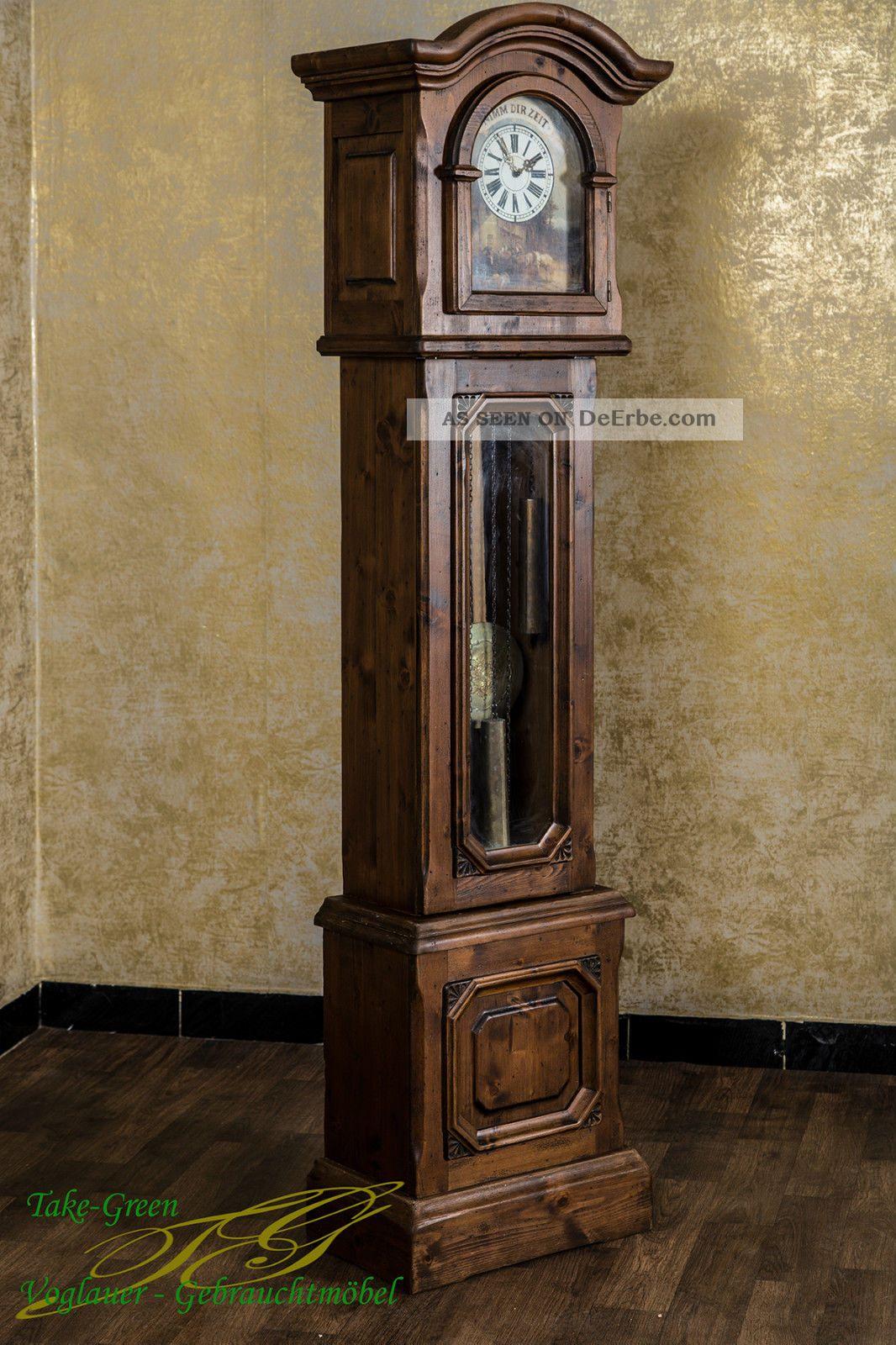 Voglauer Anno 1900 Standuhr Uhr Pendeluhr Landhausstil ...