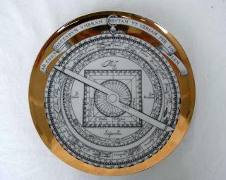 Piero Fornasetti Astrolabio 1970 Wand - Teller Wall Plate Bild