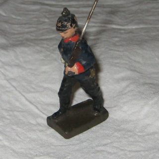 Massefigur Schreitender Soldat (lineol) Bild