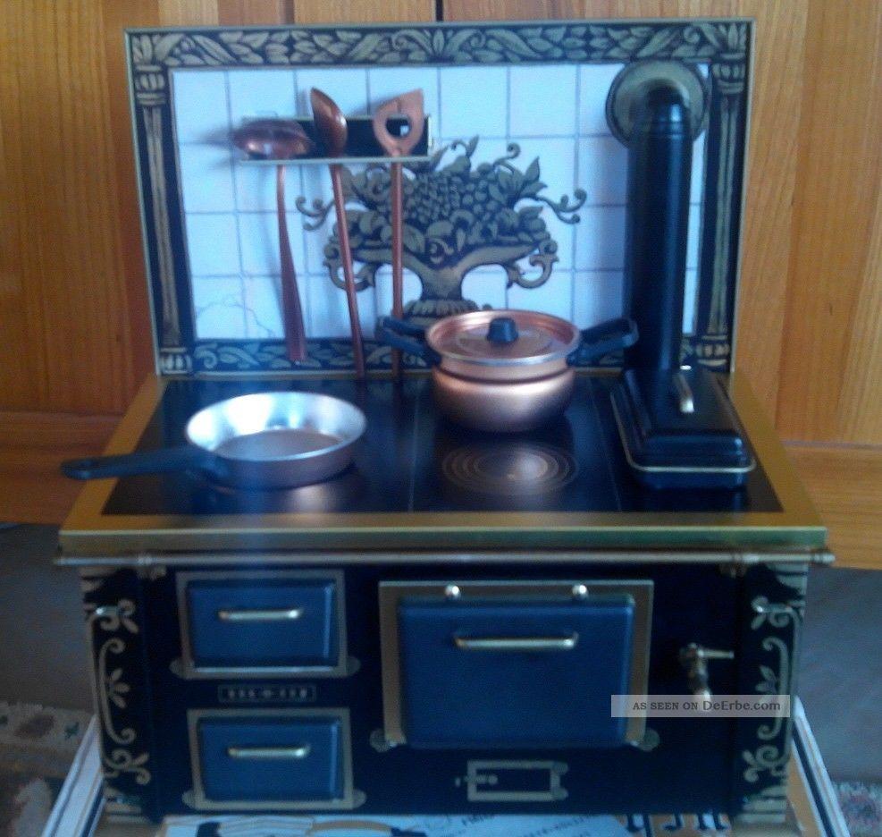 blechherd nostalgie funktionsfähig esbit. mit wasserhahn herd ... - Nostalgie Küche