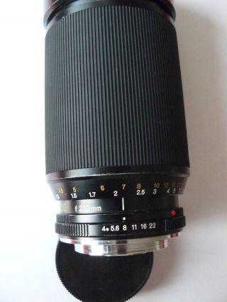 Leica Vario - Elmar - R 70 - 210 Mm F/4 Objektiv Volle Funktion Bild