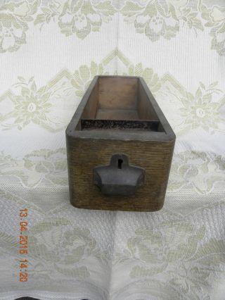 1 Alte Nähmaschinenschublade Aus Holz Schublade Für Alte Nähmaschinen Bild