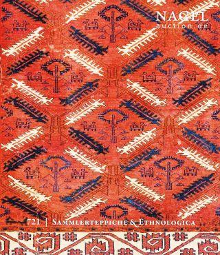 Carpets - Sammlerteppiche & Ethnologica: Katalog Nagel 15 Bild
