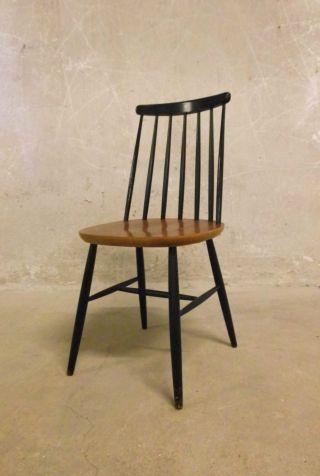 Stuhl Chair Fanett Stil Asko Tapiovaara Era Mid Century Modern Modernist 50s 60s Bild