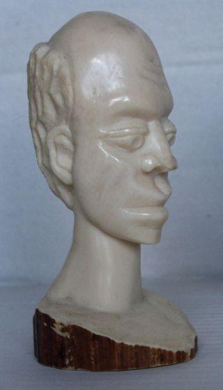 Sehr Alte Figur Aus Afrika Beinschnitzerei 19 Jahrhundert Bild