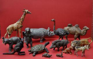 Konvolut Alter Masse - Figuren Zootiere Bild