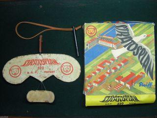 Steiff Stratosplan 520 D.  R.  P.  Patent Um 1930 Jahre Sehr Seltene Bild
