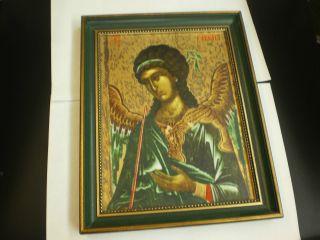 Erzengel Gabriel,  Porzellan - Ikone,  Heinrich,  Nr.  4,  Limitiert Bild