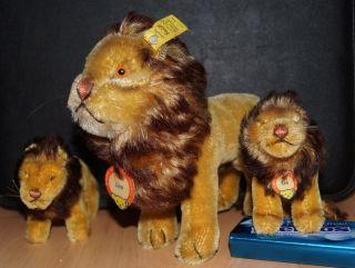 Steiff Sammlung Löwe Lion Leo 60er Jahre 1 X Kfs Bild