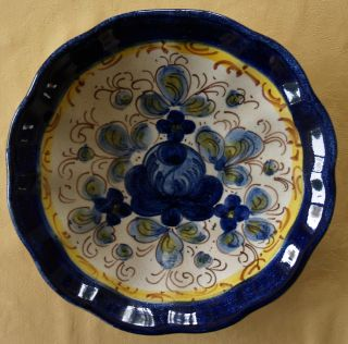 Keramik Schale,  Wandteller,  Handarbeit Nr105 Bild