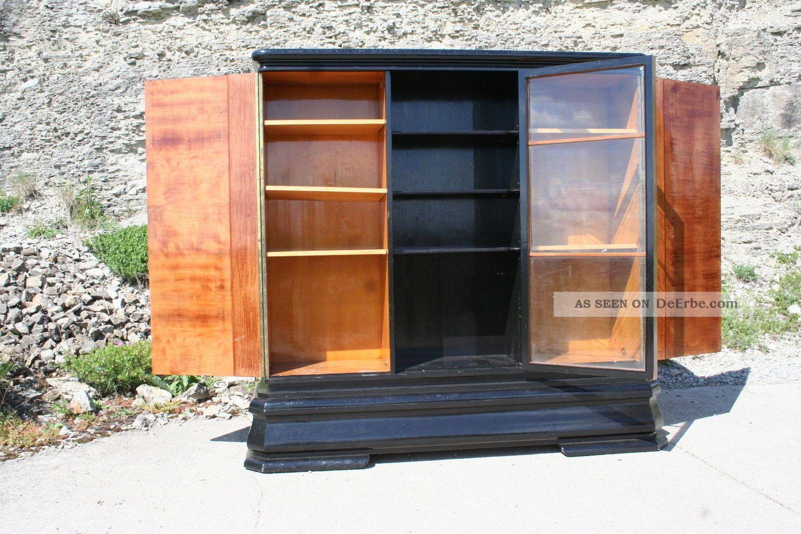 Schrank berlin vitrine kleiderschrank b cherschrank for Schrank vitrine