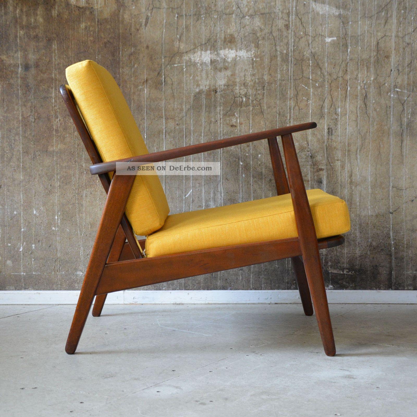 60er Teak Sessel Danish Design 60s Easy Chair Vintage Midcentury