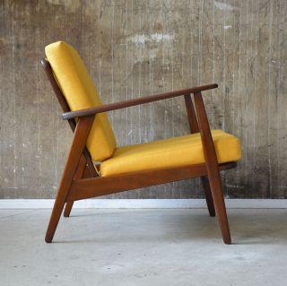 60er Teak Sessel Danish Design 60s Easy Chair Vintage Midcentury Vodder ära Bild