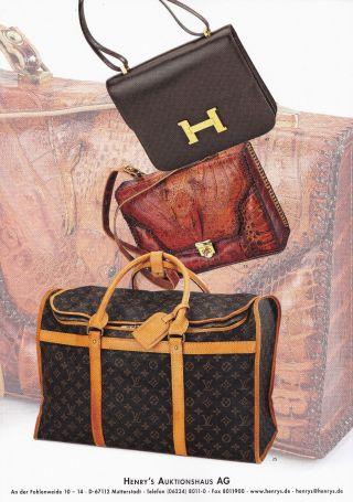 Vintage Luggage,  Vuitton,  Prada U.  A.  : Katalog Henry ' S 14 Bild
