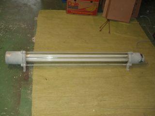Explosionsgeschützt Lampe Ex Geschützt Leuchte Werkstattlampe Fabrik Vintage Ddr Bild