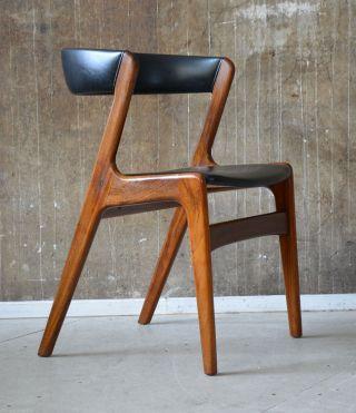 60er Palisander Armlehnstuhl Schreibtischstuhl 60s Arm Chair Rosewood Vodder ära Bild
