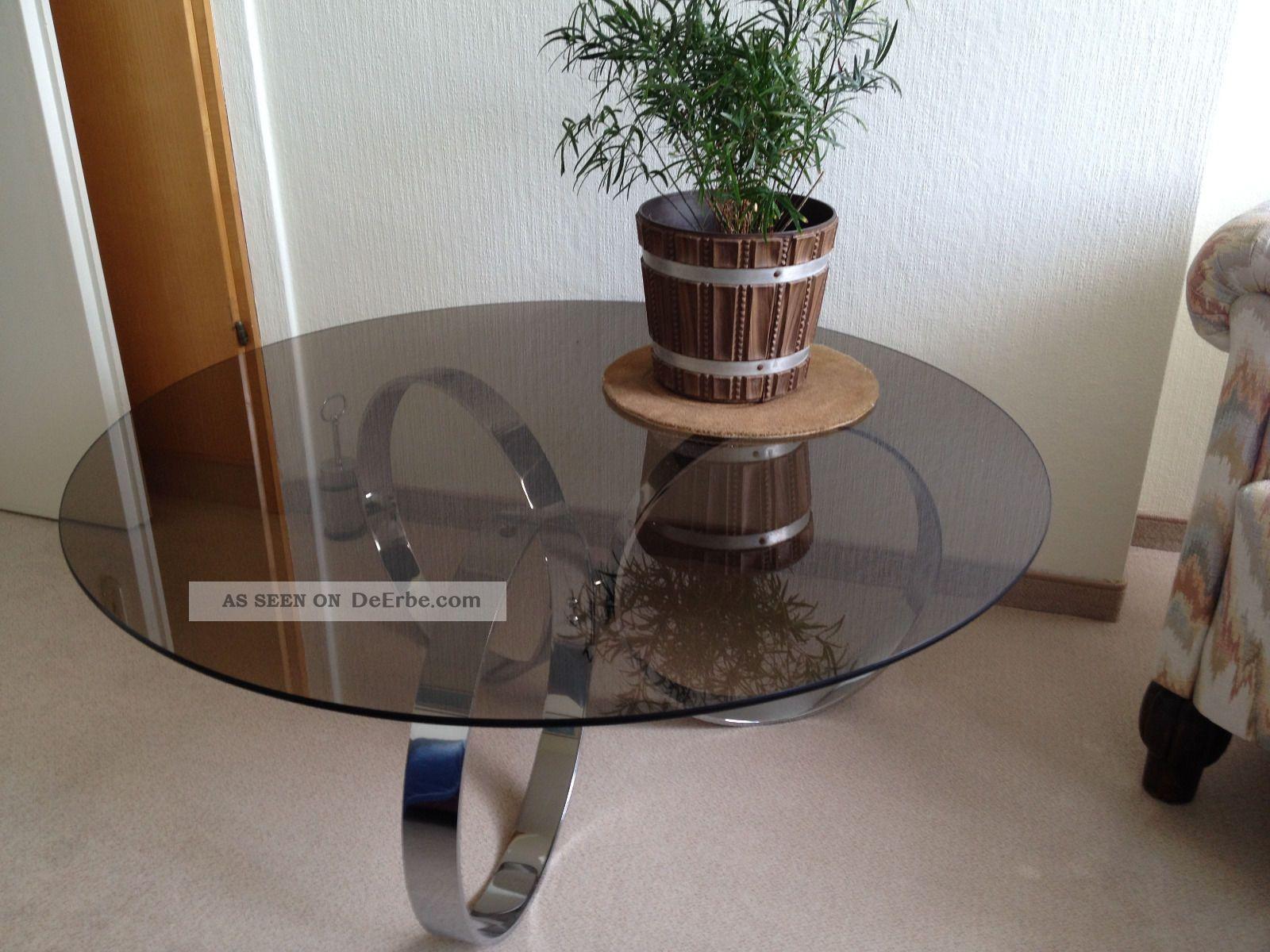 70er jahre design glastisch couchtisch cool f r die 70er for Design glastisch couchtisch