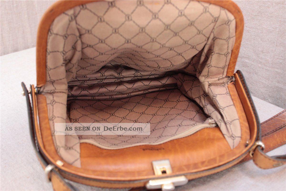 Release-Info zu 60% günstig große Auswahl an Designs Goldpfeil Damen Handtasche, 70er Jahre, Caracciola, Leder