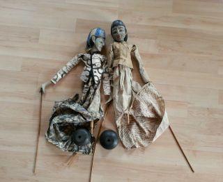Puppen Deko Antik Bild