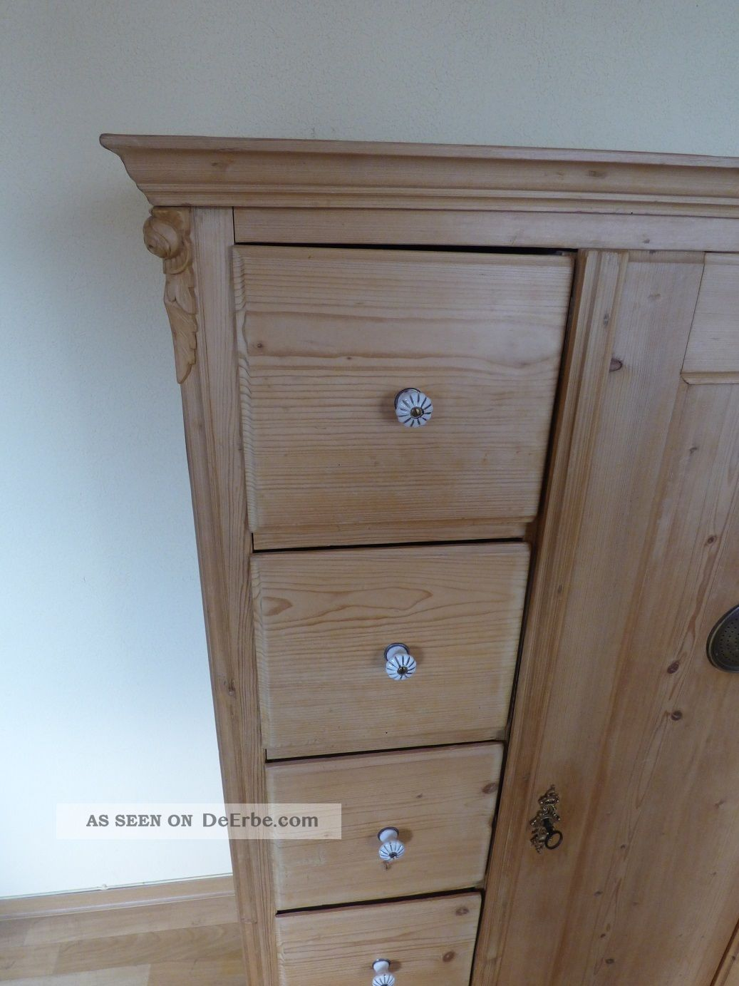 schrank brotschrank kiefer weichholz. Black Bedroom Furniture Sets. Home Design Ideas