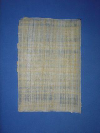 Echter ägyptischer Papyrus In Premium Qualität 2 Stück Zum Schreiben & Malen Bild