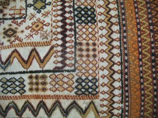 Natural Sofra Persian Nomad 1of A Kind Kilim Rug 3 ' 6
