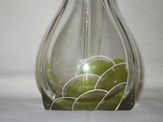 Jugendstil Vase 1900 Böhmisches Glas Sütterlin Fritz Heckert? Art Nouveau Loetz Bild