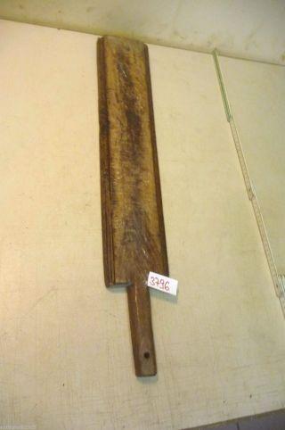 Nr.  3796.  Alter Wäscheklopfer Waschbrett Old Wooden Mangle Wash Scrub Board Bild