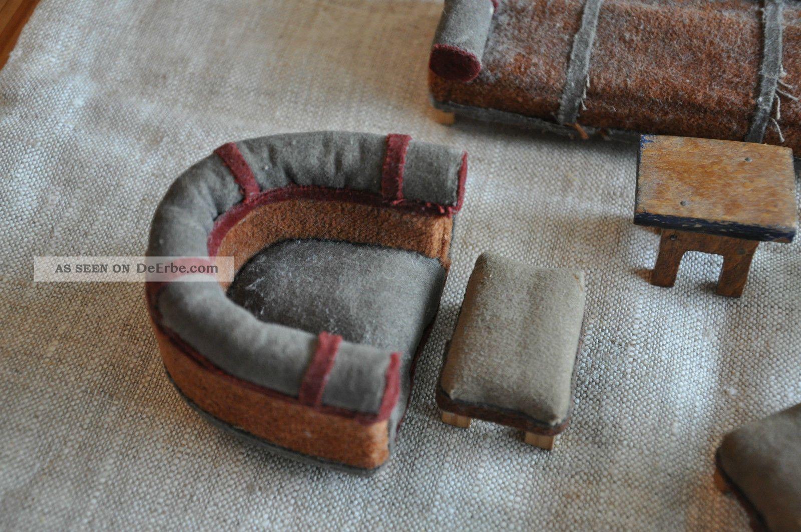 alte 50er jahre m bel sofa puppenstube rockabilly couch. Black Bedroom Furniture Sets. Home Design Ideas