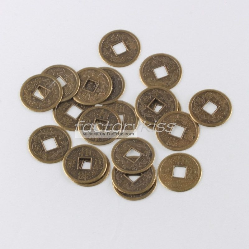 Hot 20pcs Antiquitäten Münzen Münze Spielmünze China Amulett