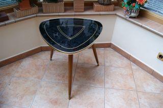 Tisch - Nierentisch - 50s Rockabilly Style Nierentisch - 50 / 60s Bild