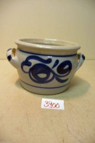 Nr.  3900.  Alter Schmalztopf Steintopf Keramik Topf Old Stoneware Pot Bild