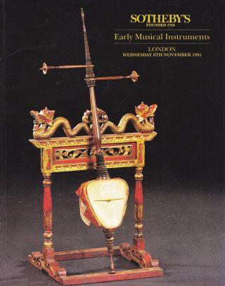 Early Musical Instruments: Sotheby ' S London 95,  Results Bild