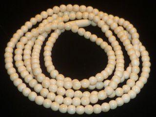 Sehr Alte Halskette Aus Bein,  102 Cm,  Nur Für 5 Tage Bild