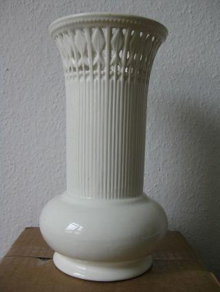 Max Roesler Klassizistische Art Déco Vase Durchbruch Vase Signiert Partz Antik Bild