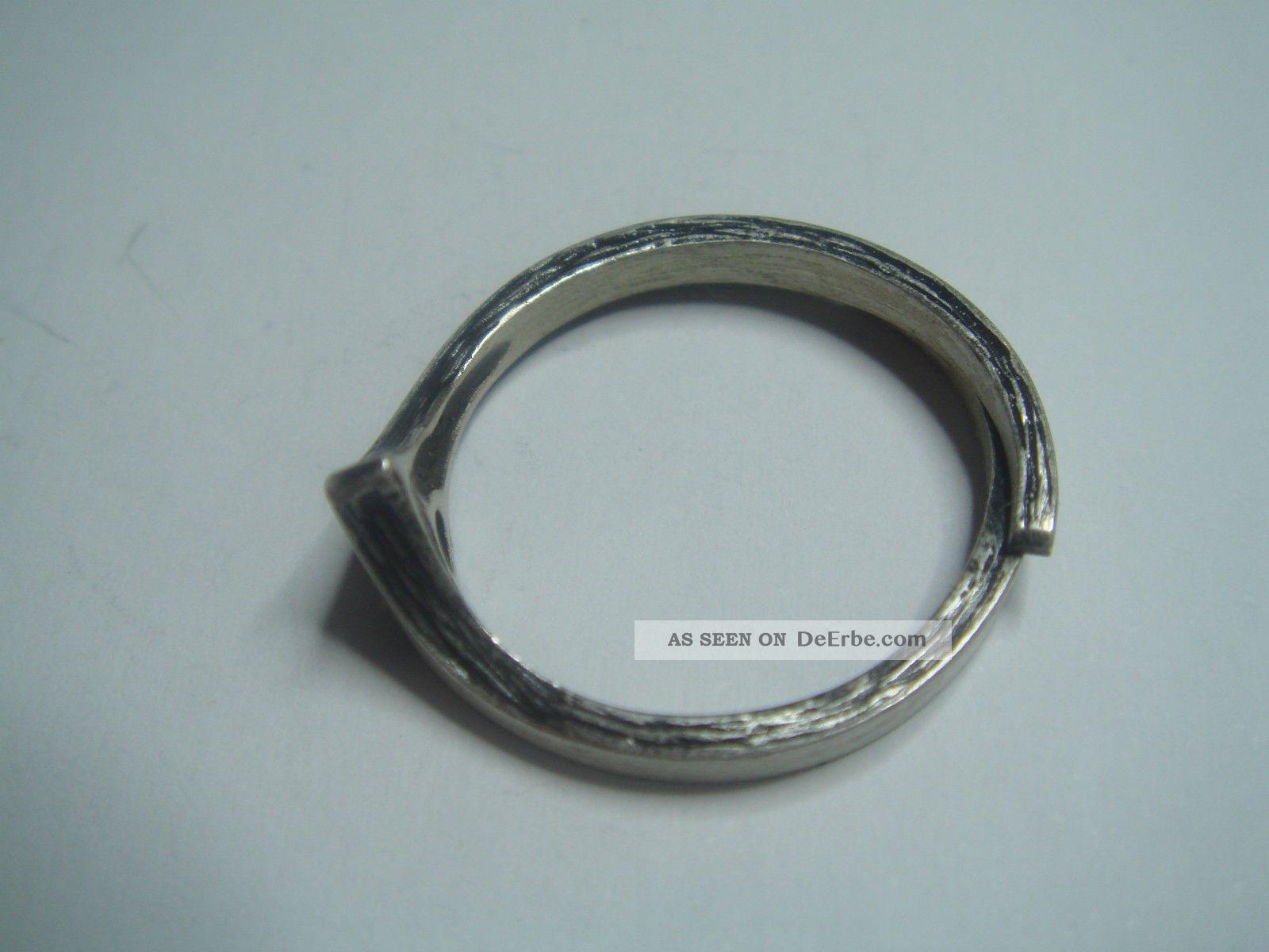 vintage ring von ninex korut oy finnland echt silber 925. Black Bedroom Furniture Sets. Home Design Ideas