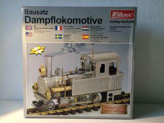 Bausatz Dampflokomotive Lucas D 001 Wilesco Live Steam Selten Rar Nagelneu Bild
