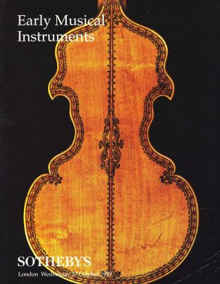 Early Musical Instruments: Sotheby ' S London 99,  Results Bild