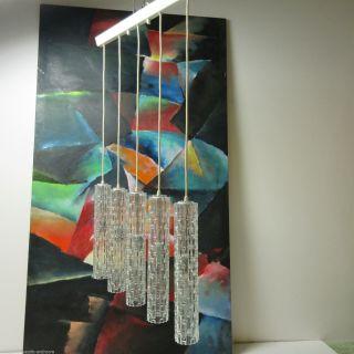 Arteluce Era Glas Hängelampe Pendel Leuchte Kaskade 60er/70er Wohn/esszimmer Bild