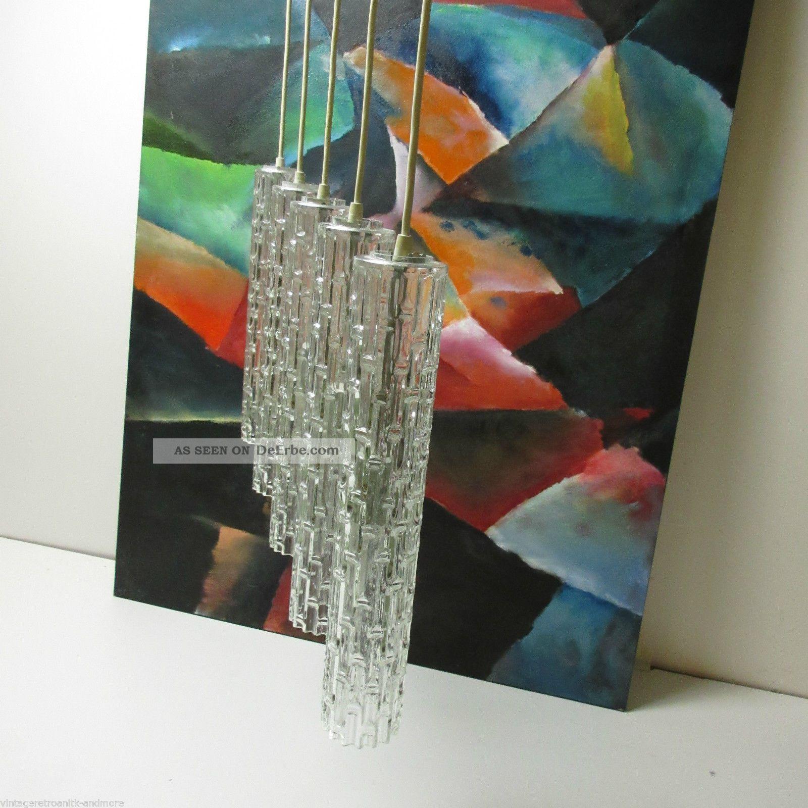 Arteluce Era Glas Hängelampe Pendel Leuchte Kaskade 60er/70er Wohn/esszimmer