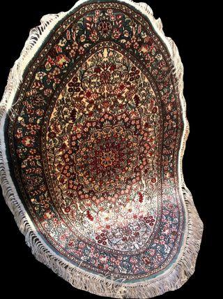 Wunderschöner Handgeknüpfter Orientteppich Teppich Hereke Reine Seide Bild