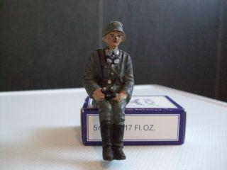 Lineol, .  Luftwaffe Adjutant Sitzend Fernglas Haltend,  Besatzung Kübelwagen Bild