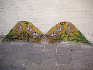1 Paar Bleiglas - Scheiben 132x60 Bild