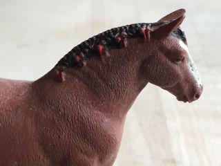 Pferd Elastolin Lineol 70iger Aus Einer Sammlung Bauernhof Tier Kaltblut Bild