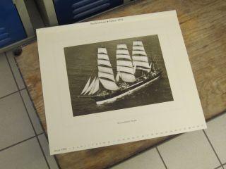 Nautik Historie - Edition Kalender Segelschiffe Deutsche Handelsmarine Bild