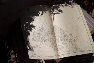 Nautic Naval Chart Seekarte Guaitecas Islands Patagonia 1904 Kaiserliche Marine Bild