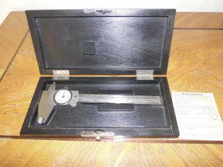 Alter Meßschieber,  Alte Schublehre,  Messgerät Zur Dickenbestimmung,  1955 Bild