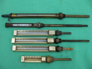 Alte Maschinen - Bzw.  Kesselthermometer Bild